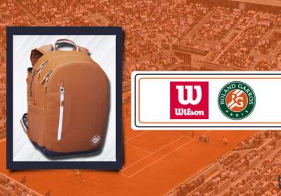 Zaino Wilson x Roland Garros