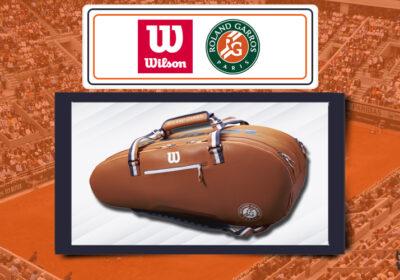 Borsa Wilson x Roland Garros