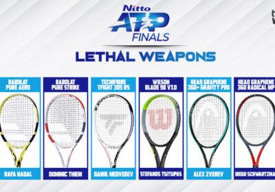 ATP Finals - Racchette